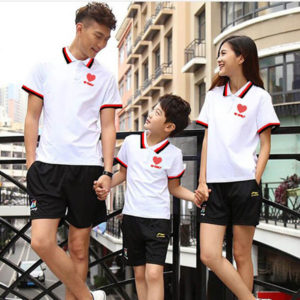 Áo thun gia đình vải cotton 4 chiều VT002