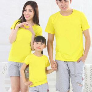 Áo thun gia đình vải cotton 4 chiều VT007