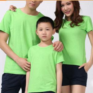 Áo thun gia đình vải cotton 4 chiều VT010