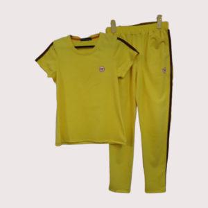 Đồ bộ thể thao nữ vải poly 2 da VT001