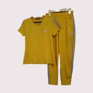 Đồ bộ thể thao nữ vải poly 2 da VT006