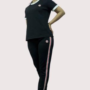 Đồ bộ thể thao nữ vải poly 2 da VT007