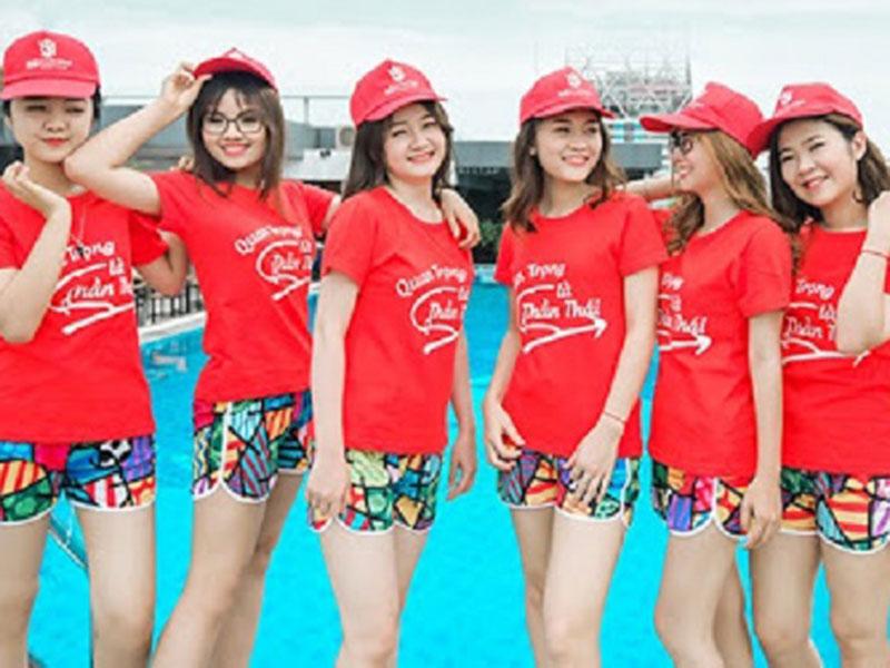 10 mẫu áo thun đồng phục du lịch