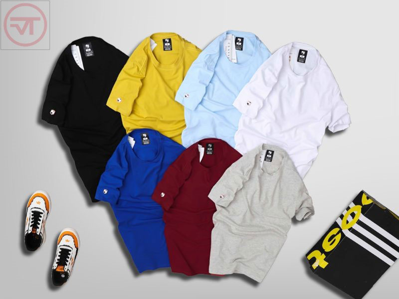 10 mẫu áo thun nam tay lỡ
