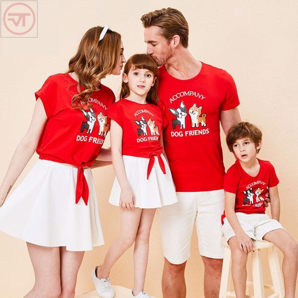 Áo thun cotton gia đình là gì