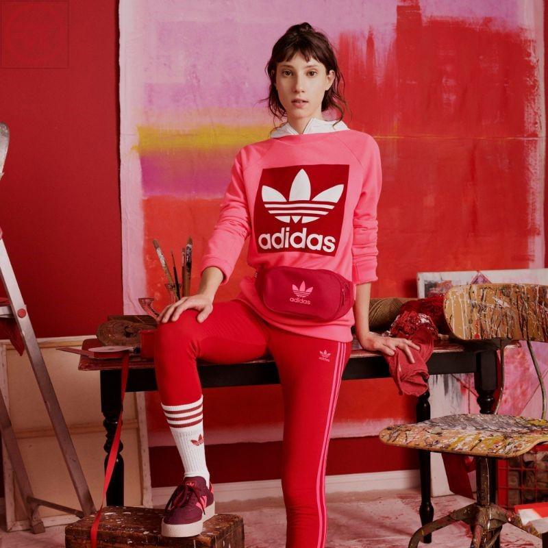 Áo thun dài tay Adidas nữ