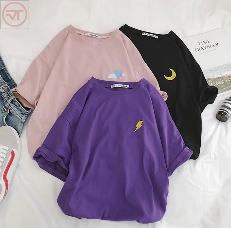 Có nhiều màu áo thun cho bạn thỏa sức lựa chọn